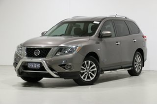 2015 Nissan Pathfinder R52 MY15 ST Hybrid (4x2) Grey Continuous Variable Wagon.