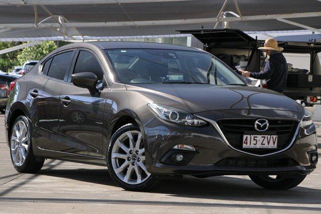 Used Mazda 3 BM5236 SP25 SKYACTIV-MT, 2014 Mazda 3 BM5236 SP25 SKYACTIV-MT Titanium Flash 6 Speed Manual Sedan