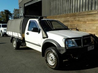 2005 Holden Rodeo RA MY05 LX 4x2 White 5 Speed Manual Cab Chassis.