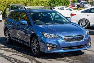 2019 Subaru Impreza G5 MY19 2.0i Premium CVT AWD Blue 7 Speed Constant Variable Hatchback.