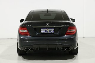 2012 Mercedes-Benz C63 W204 MY12 AMG Grey 7 Speed Automatic G-Tronic Coupe