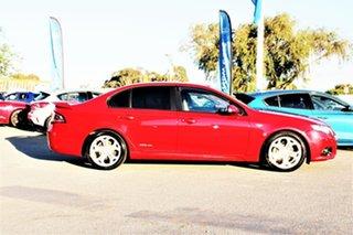 2012 Ford Falcon FG MkII XR6 Red 6 Speed Sports Automatic Sedan