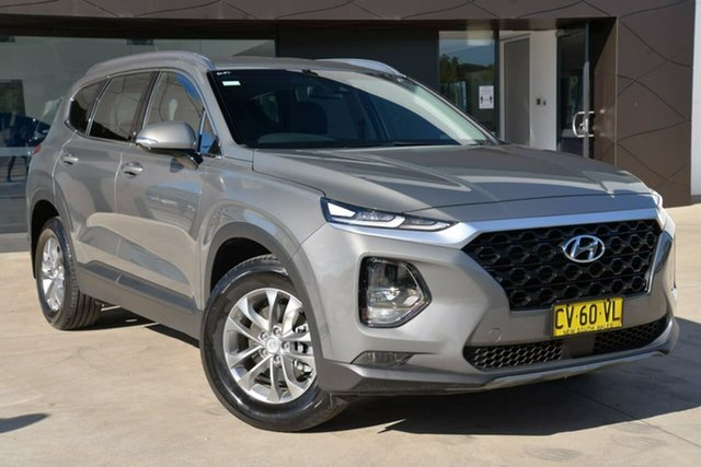 Used Hyundai Santa Fe TM MY19 Active, 2019 Hyundai Santa Fe TM MY19 Active Grey 8 Speed Sports Automatic Wagon