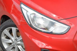 2017 Hyundai Accent RB6 MY18 Sport Red 6 Speed Sports Automatic Hatchback