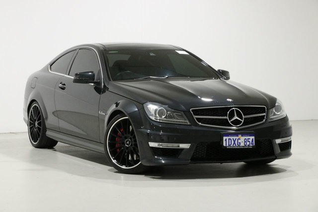 Used Mercedes-Benz C63 W204 MY12 AMG, 2012 Mercedes-Benz C63 W204 MY12 AMG Grey 7 Speed Automatic G-Tronic Coupe