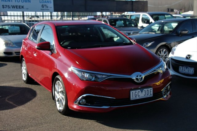 Used Toyota Corolla ZRE182R Ascent Sport S-CVT, 2015 Toyota Corolla ZRE182R Ascent Sport S-CVT Red 7 Speed Constant Variable Hatchback
