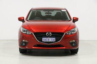 2016 Mazda 3 BM MY15 Maxx Soul Red 6 Speed Automatic Sedan.