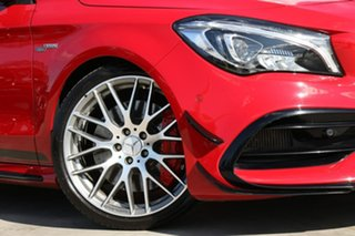2018 Mercedes-Benz CLA45 C117 808+058MY AMG SPEEDSHIFT DCT 4MATIC Jupiter Red 7 Speed