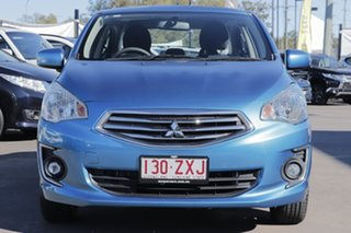 2016 Mitsubishi Mirage LA MY16 ES Blue 1 Speed Constant Variable Sedan