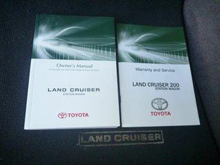 2014 Toyota Landcruiser VDJ200R MY13 Sahara Black 6 Speed Sports Automatic Wagon.