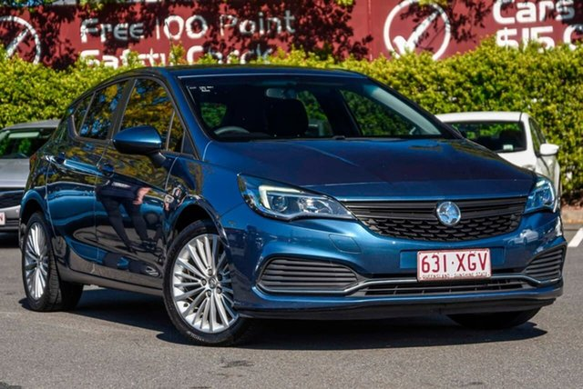 Used Holden Astra BK MY17 R, 2016 Holden Astra BK MY17 R Blue 6 Speed Sports Automatic Hatchback