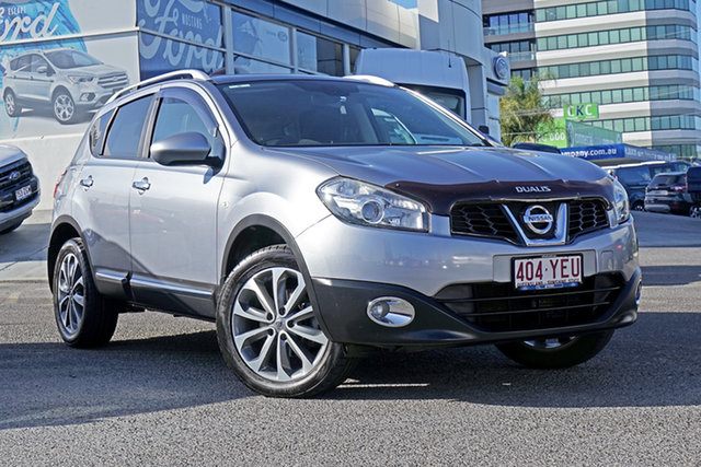 Used Nissan Dualis J10 Series II MY2010 Ti X-tronic AWD, 2011 Nissan Dualis J10 Series II MY2010 Ti X-tronic AWD Silver 6 Speed Constant Variable Hatchback