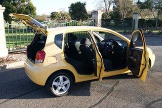 2006 Holden Barina TK Yellow 5 Speed Manual Hatchback