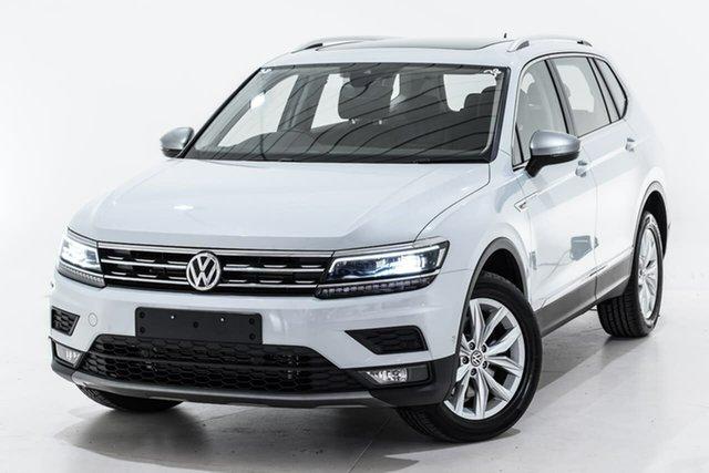 Used Volkswagen Tiguan 5N MY19.5 132TSI Comfortline DSG 4MOTION Allspace, 2019 Volkswagen Tiguan 5N MY19.5 132TSI Comfortline DSG 4MOTION Allspace Silver 7 Speed