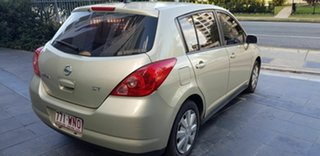 2009 Nissan Tiida C11 MY07 ST Gold 4 Speed Automatic Hatchback