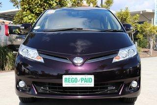 2015 Toyota Tarago GSR50R MY13 GLX Scarlet 6 speed Automatic Wagon.