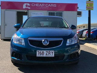 2012 Holden Cruze JH Series II MY12 CD Green 6 Speed Manual Hatchback