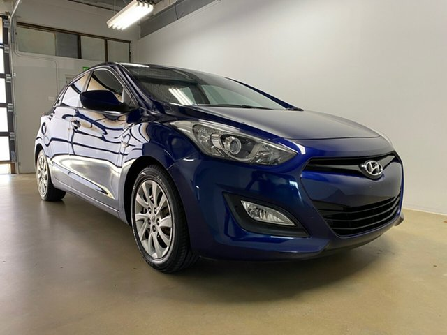 Used Hyundai i30 GD Active, 2012 Hyundai i30 GD Active Blue 6 Speed Automatic Hatchback