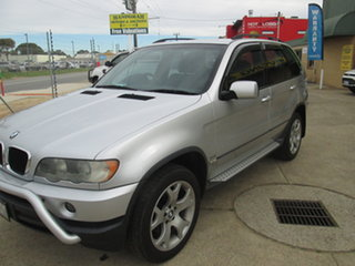 2003 BMW X5 E53 - Silver 5 Speed Automatic Wagon.