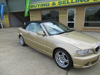 2003 BMW 330Ci E46 330Ci Gold 5 Speed Automatic Convertible