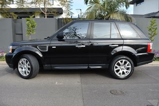 2009 Land Rover Range Rover Sport L320 09MY TDV6 Black 6 Speed Sports Automatic Wagon.