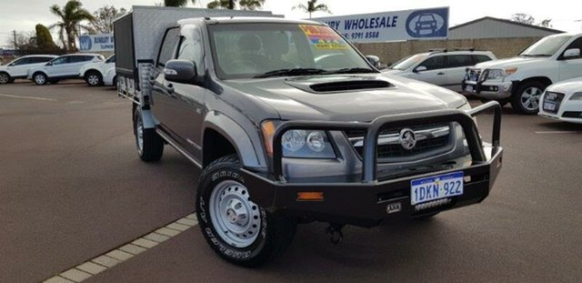 Used Holden Colorado RC MY10 LX Crew Cab, 2010 Holden Colorado RC MY10 LX Crew Cab Grey 5 Speed Manual Utility