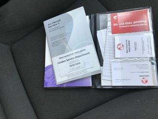 2012 Holden Cruze JH MY12 CD Red 6 Speed Automatic Sedan