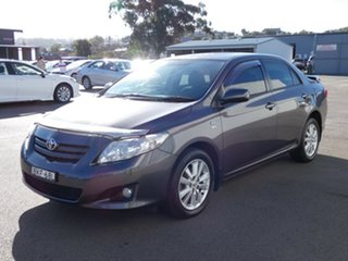 2009 Toyota Corolla ZRE152R Conquest Grey 4 Speed Automatic Sedan.