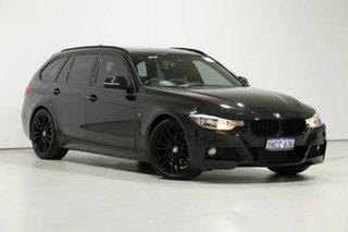 2014 BMW 328i F31 MY14 Upgrade Touring Sport Line Black 8 Speed Automatic Wagon.