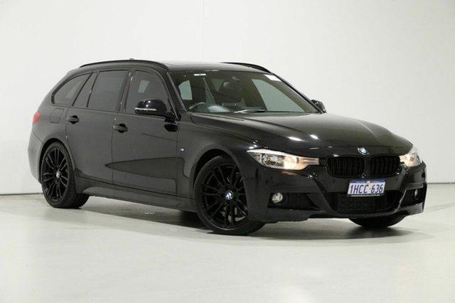 Used BMW 328i F31 MY14 Upgrade Touring Sport Line, 2014 BMW 328i F31 MY14 Upgrade Touring Sport Line Black 8 Speed Automatic Wagon