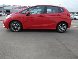 2014 Honda Jazz GF MY15 VTi Red 1 Speed Constant Variable Hatchback.