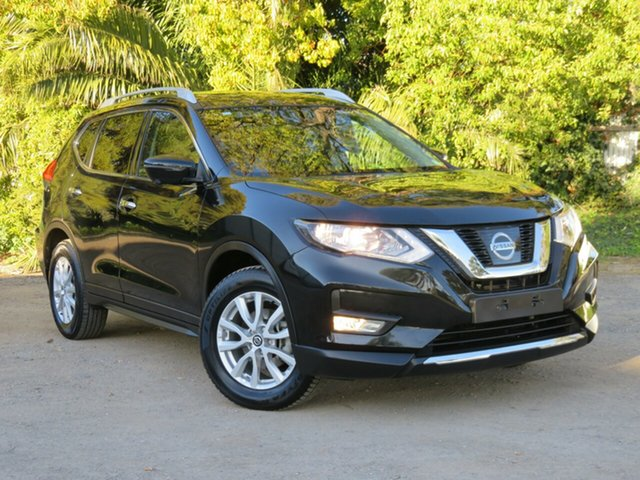 Used Nissan X-Trail T32 Series II ST-L X-tronic 4WD, 2018 Nissan X-Trail T32 Series II ST-L X-tronic 4WD Black 7 Speed Constant Variable Wagon