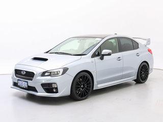 2014 Subaru WRX MY15 STI Premium (AWD) Silver 6 Speed Manual Sedan.