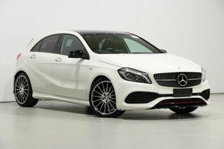 2016 Mercedes-Benz A250 176 MY16 Sport White 7 Speed Automatic Hatchback.