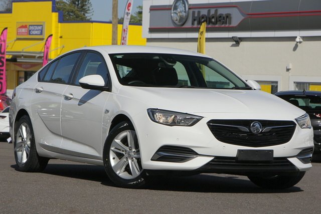 Used Holden Commodore ZB MY18 LT Liftback, 2018 Holden Commodore ZB MY18 LT Liftback White 9 Speed Sports Automatic Liftback
