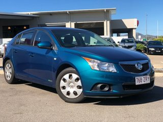 2012 Holden Cruze JH Series II MY12 CD Green 6 Speed Manual Hatchback.