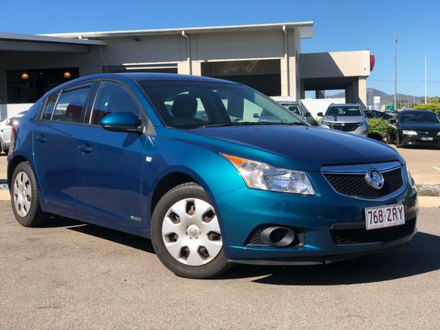 Used Holden Cruze JH Series II MY12 CD, 2012 Holden Cruze JH Series II MY12 CD Green 6 Speed Manual Hatchback