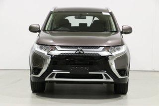 2019 Mitsubishi Outlander ZL MY19 ES 7 Seat (AWD) Brown Continuous Variable Wagon.
