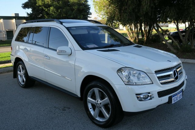 Used Mercedes-Benz GL-Class X164 GL320 CDI, 2007 Mercedes-Benz GL-Class X164 GL320 CDI White 7 Speed Sports Automatic Wagon