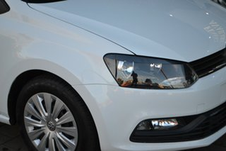 2015 Volkswagen Polo 6R MY15 66TSI DSG Trendline White 7 Speed Sports Automatic Dual Clutch