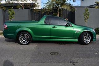 2011 Holden Ute VE II SV6 Green 6 Speed Manual Utility