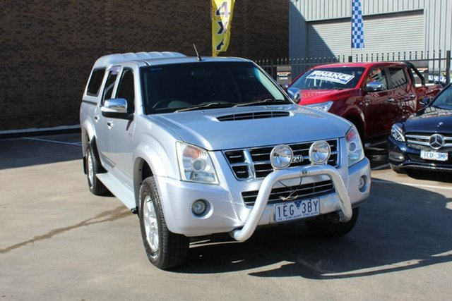 Used Isuzu D-MAX TF LS-M (4x4), 2008 Isuzu D-MAX TF LS-M (4x4) White 4 Speed Automatic Crew Cab Utility