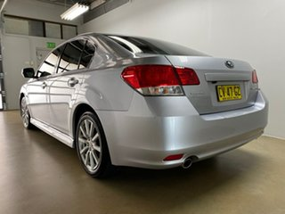 2012 Subaru Liberty MY12 2.5I Premium Silver Continuous Variable Sedan