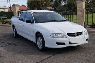 2004 Holden Crewman VZ White 4 Speed Automatic Crew Cab Utility.