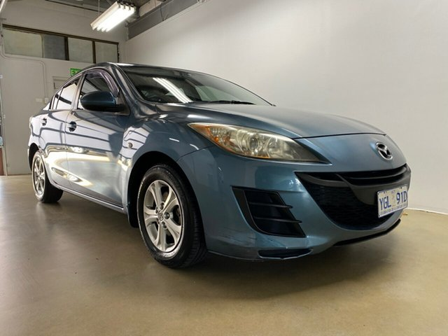 Used Mazda 3 BL Maxx, 2009 Mazda 3 BL Maxx Blue 5 Speed Automatic Sedan