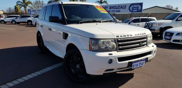 Used Land Rover Range Rover Sport L320 08MY TDV6, 2007 Land Rover Range Rover Sport L320 08MY TDV6 White 6 Speed Sports Automatic Wagon
