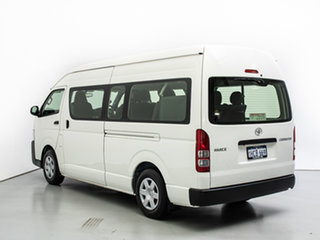 2018 Toyota HiAce KDH223R MY16 Commuter White Bus
