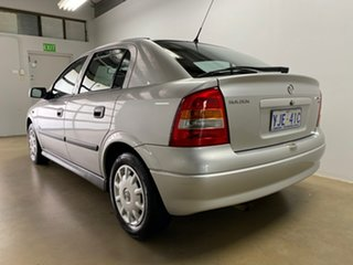 2002 Holden Astra TS City Silver 5 Speed Manual Hatchback