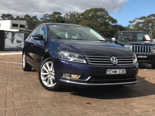 Used Volkswagen Passat Type 3C MY11 125TDI DSG Highline, 2011 Volkswagen Passat Type 3C MY11 125TDI DSG Highline Blue 6 Speed Sports Automatic Dual Clutch