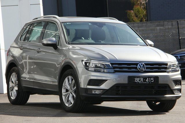 Demo Volkswagen Tiguan 5N MY20 110TSI DSG 2WD Comfortline, 2019 Volkswagen Tiguan 5N MY20 110TSI DSG 2WD Comfortline Silver 6 Speed